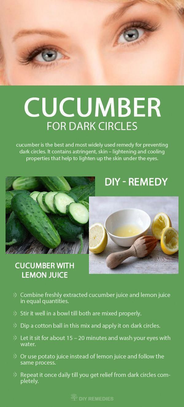 How to use Cucumber for Dark Circles    3 best cucumber methods that help you to get rid of dark circles under the eyes and saggy bags.  #DarkCircles #SaggyBags #Undereyes #EyeBagsRemoval #eyecreamsfordarkcircle #DarkCirclesUnderTheEyes #darkcircle