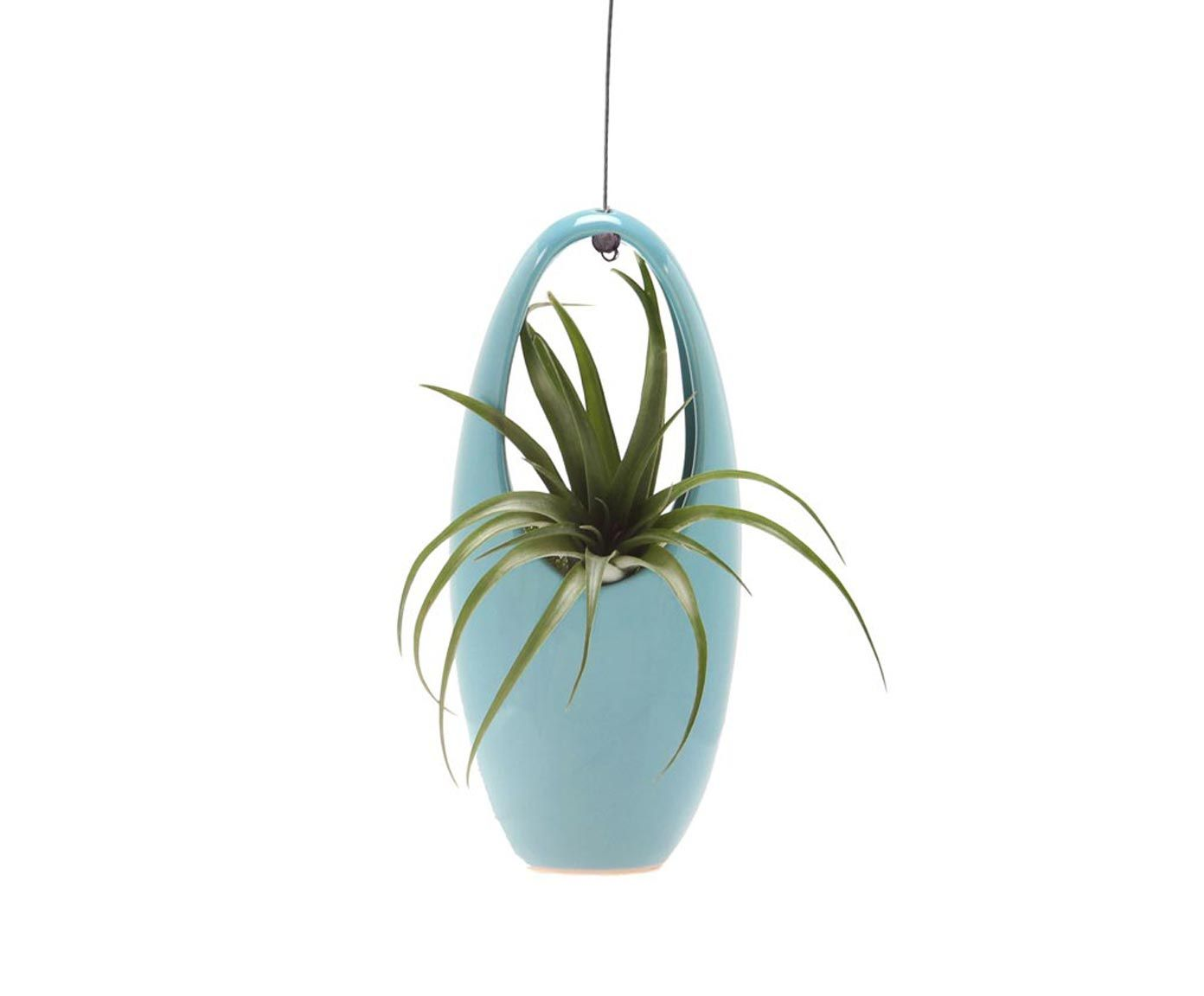 Hangende bloempot Aerium Egg, lichtblauw | Dalani Home & Living
