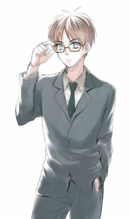 Anime Guys With Glasses Meme