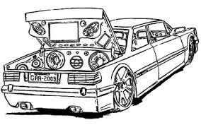 Resultado De Imagem Para Desenhos Para Pintar De Carros