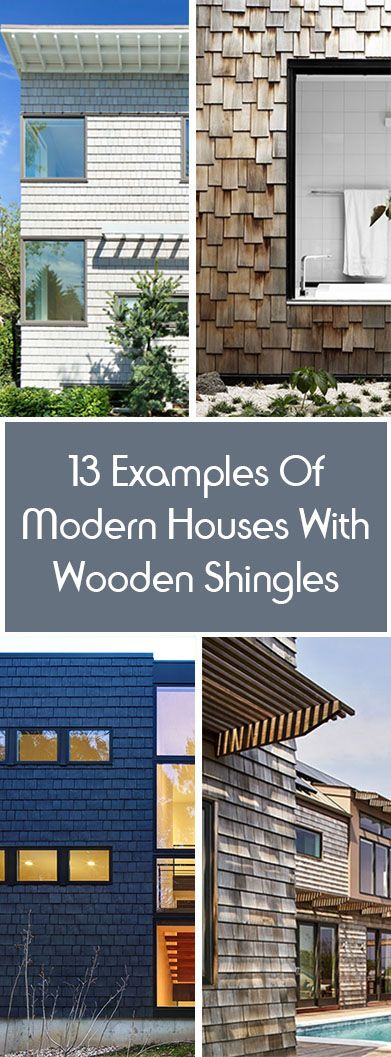 Best 13 Examples Of Modern Houses With Wooden Shingles 640 x 480