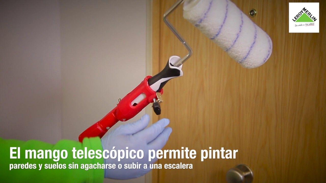 Diferencias Entre Pintar Con Brocha Pistola O Rodillo En Interior  ~ Pistola De Pintura Leroy Merlin