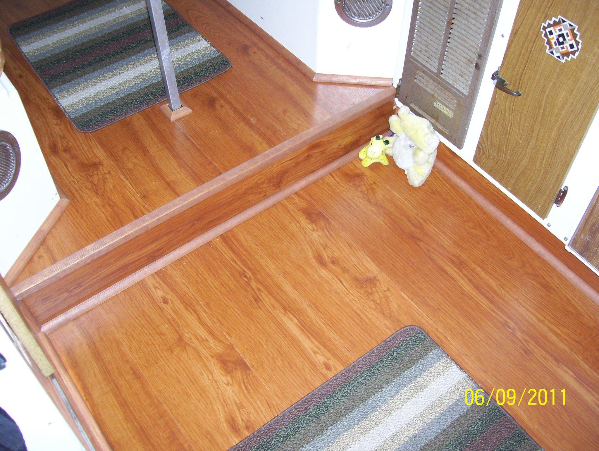 Hardwood floor in boler bolers campers caravans and