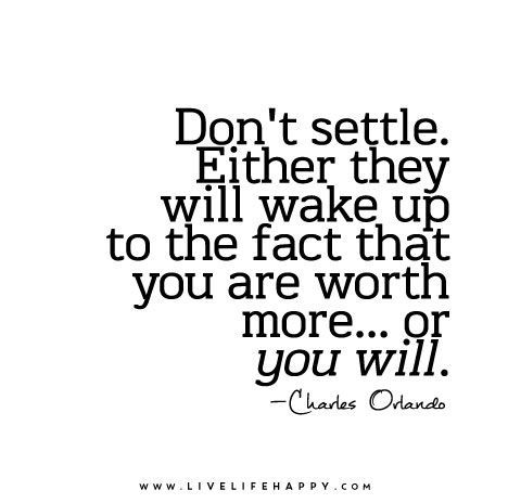 Image Result For Dont Settle Charles Orlando Quotes T