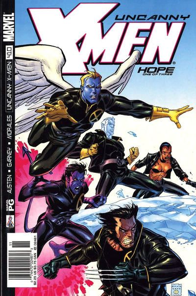 Cover For The Uncanny X Men Marvel 1981 Series 410 Direct Edition X Men Marvel Comic Books Comics