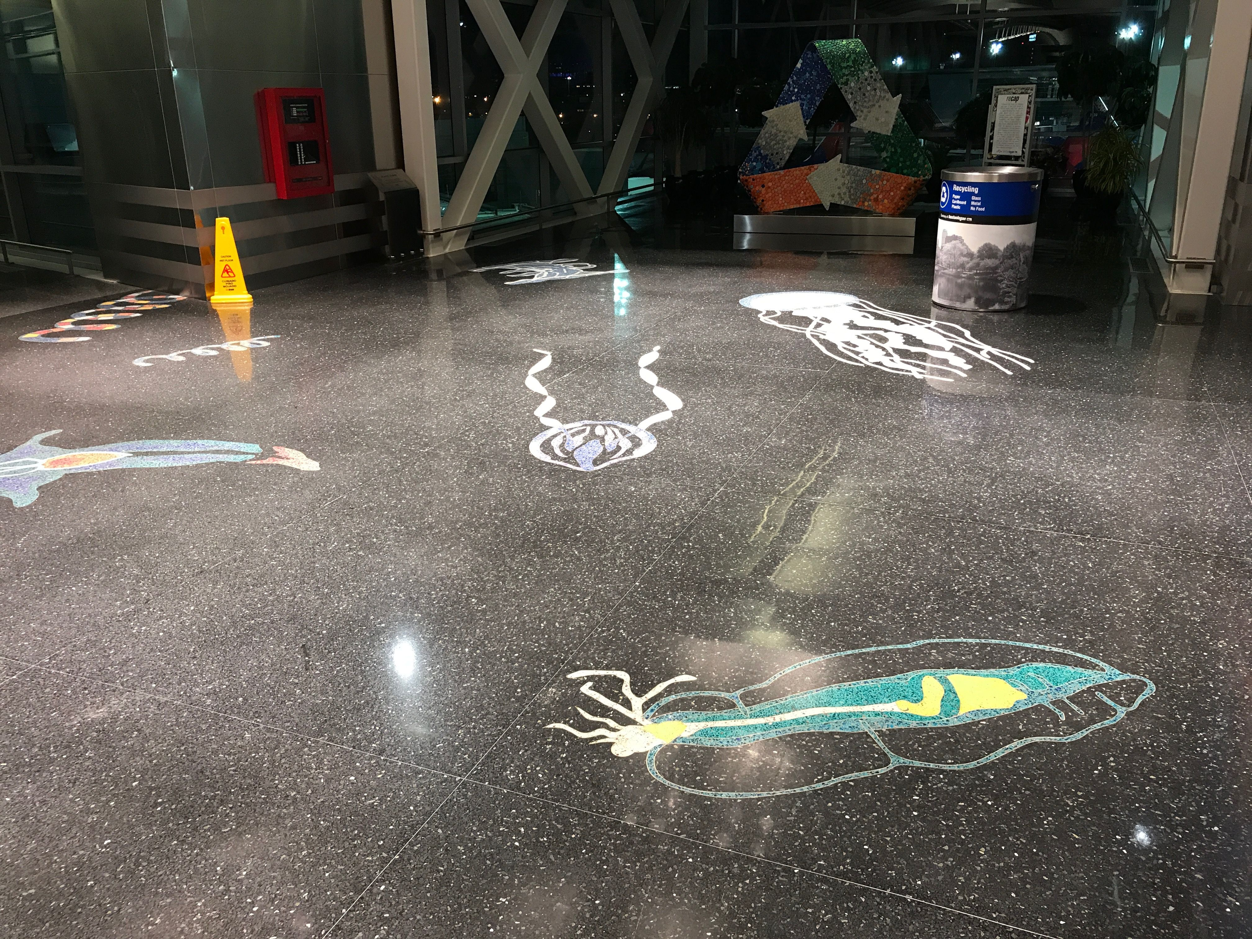 Terrazzo Floors Terminal A Boston Logan Airport Terrazzo