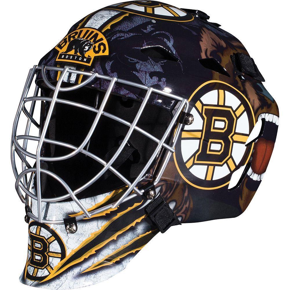 Franklin Youth Boston Bruins Gfm 1500 Street Hockey Goalie Face Mask Street Hockey Goalie Mask Boston Bruins Goalies