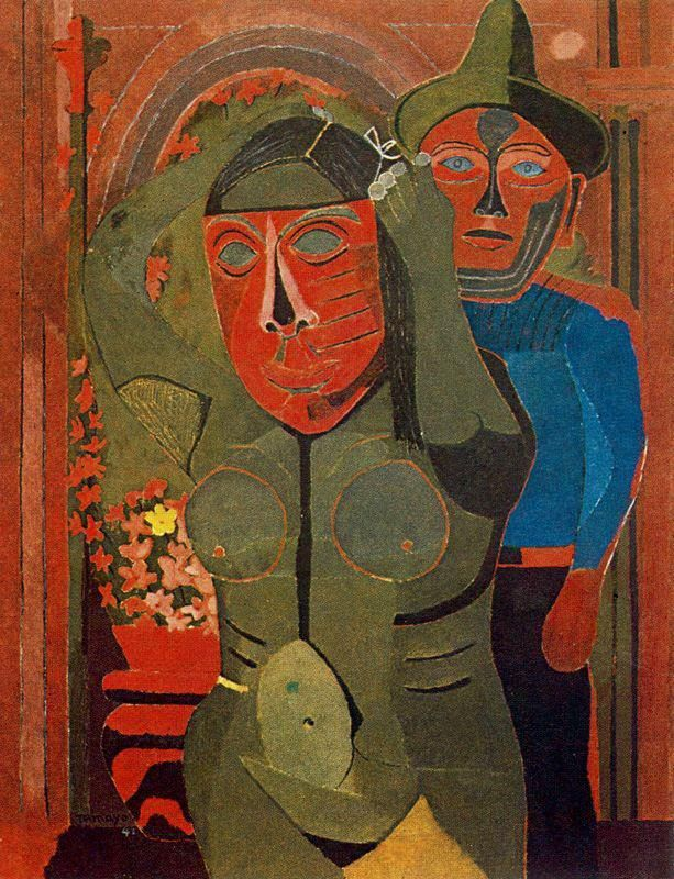 Rufino tamayo was a mexican painter of zapotec heritage for Mural rufino tamayo