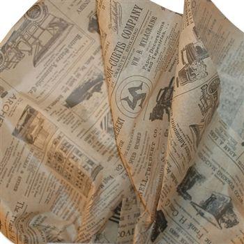 Vintage Newspaper Printed Tissue Paper Vintage Newspaper Tissue Paper Tissue Paper Crafts