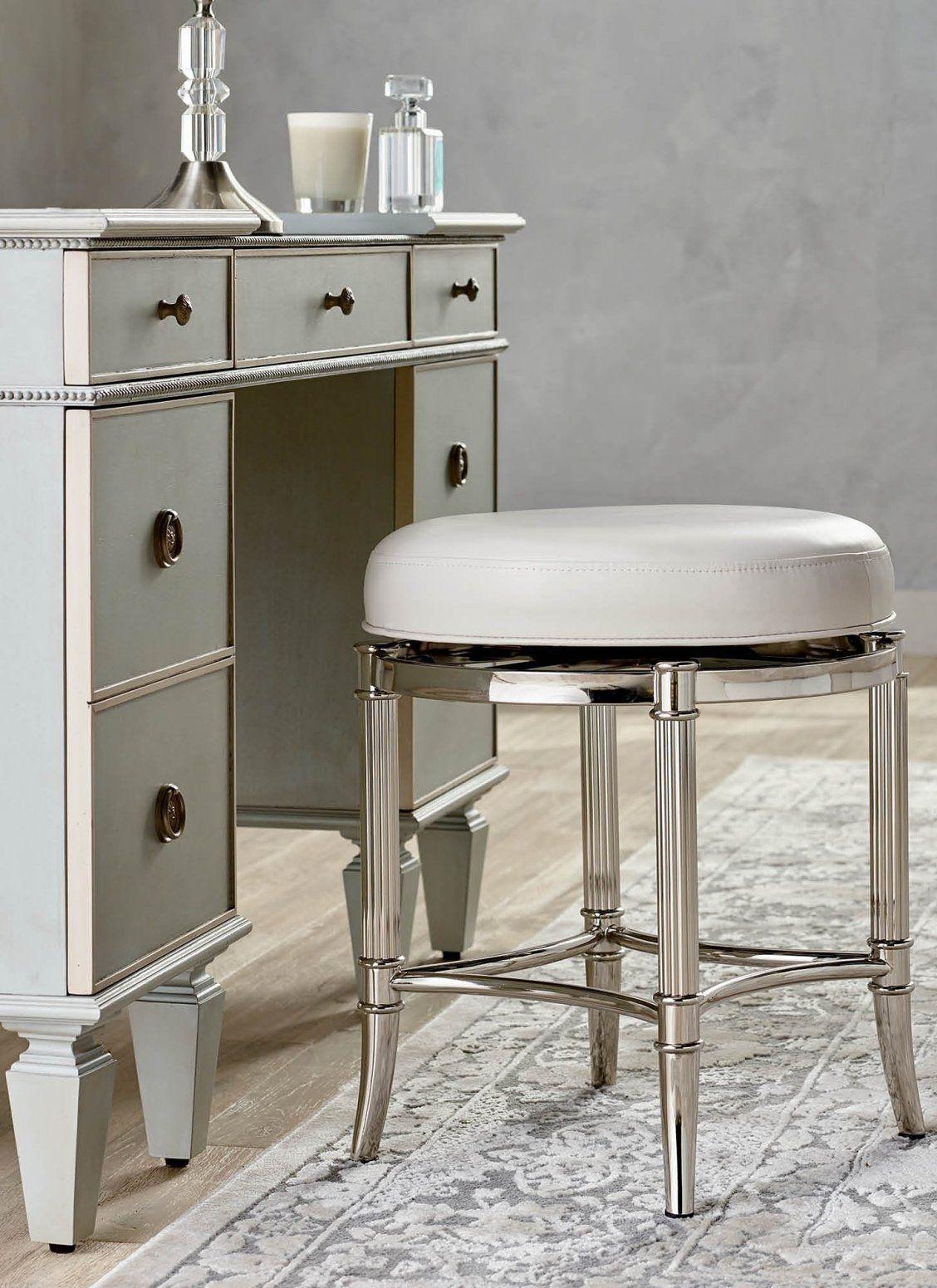 Bailey swivel vanity stool frontgate vanity stool