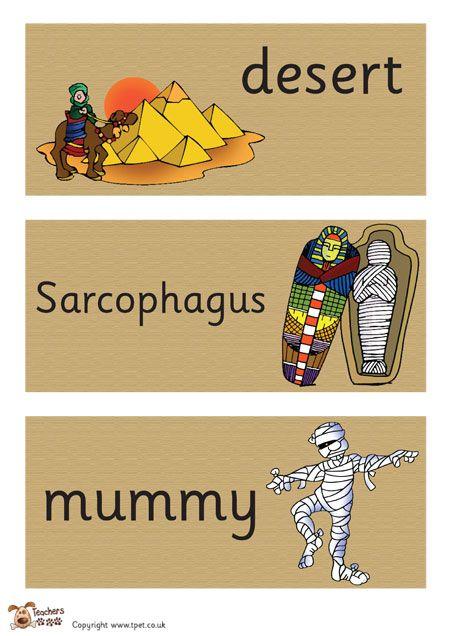Teacher S Pet Egyptian Hieroglyphics Border Free