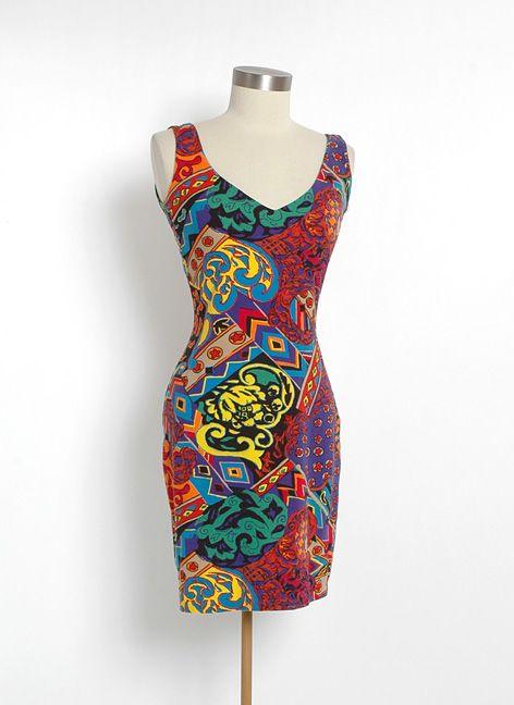 HEMLOCK VINTAGE CLOTHING : 1980's Betsey Johnson Punk Label Dress