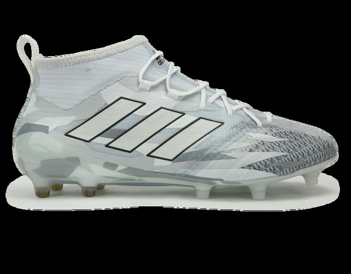 on sale 8b5db 4ed25 adidas Men s ACE 17.1 Primeknit FG White Core Black Soccer Shoes, Soccer  Cleats,