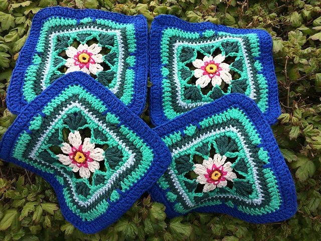 Lily Pond Blanket Crochet Along by Stylecraft by Jane Crowfoot ...