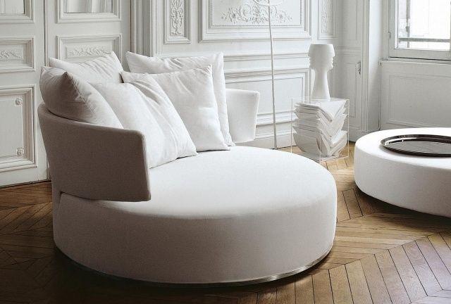 rundsofa design-tiefe sitzfläche-bequem komfortabel-einrichten, Innedesign