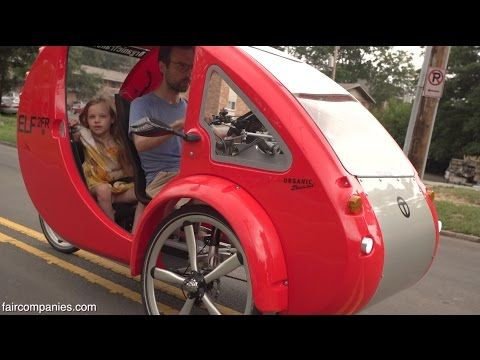 The Elf Solar Powered Car Bike Goes 48 Miles Per Charge Further If You Pedal Eco Snippets Solar Car Solar Powered Cars Bike