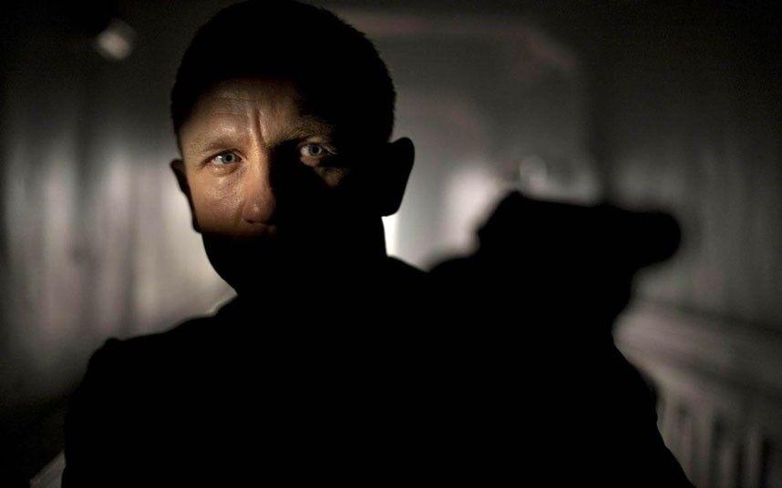 Daniel Craig in a still from the new James Bond film Skyfall.