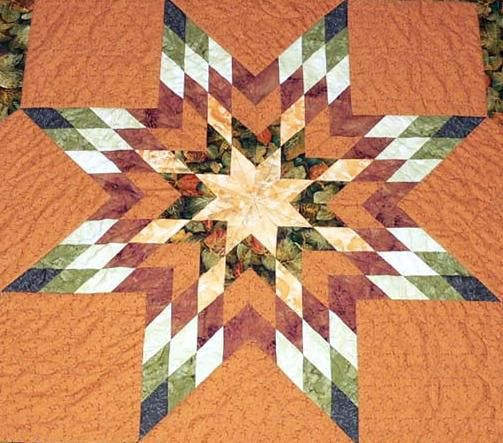 star blanket pattern quilt   The Challenge of a Lone Star Quilt ... : how to make a star quilt - Adamdwight.com