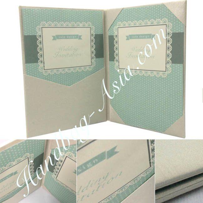 Silk folio invitation creation by Dennis Wisser now featured online
