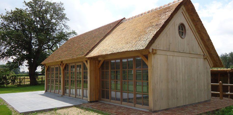 Eiken Bijgebouw | wood | Pinterest | Maison, Cabane jardin und ...