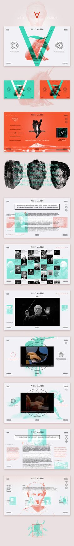 The website of Israeli pianist and conductor Arie Vardi, who is well-known for his sufficiently modern and original interpretation of classical music. by Sash firs more on http://themeforest.net/?ref=Vision7Studio Latest Modern Web Designs. http://webworksagency.com