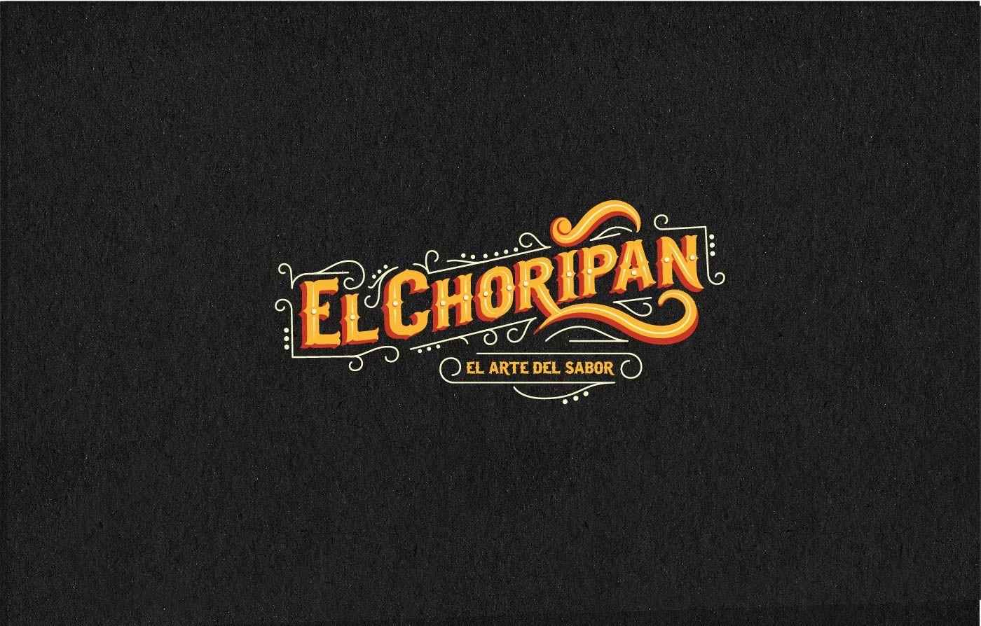 El Choripán Food Truck Logos para restaurantes, Logos