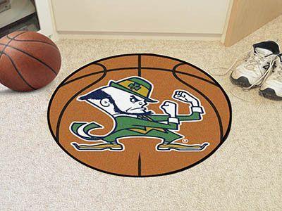 Basketball Mat - Notre Dame Fighting Irish