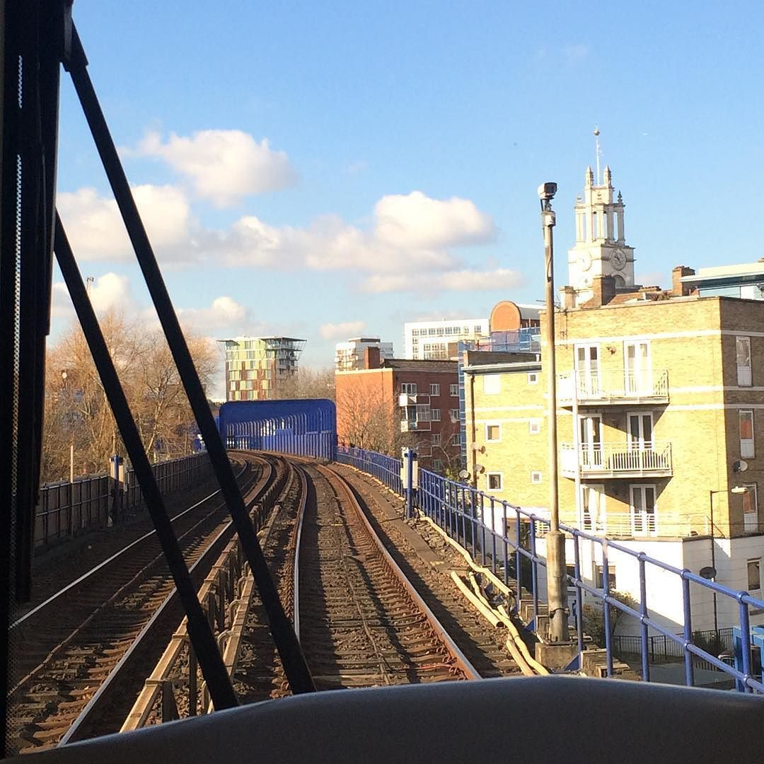 Fulfilling childhood goals of driving the train  #DLR #docklands #london #towerhill #train #driving by leannyly