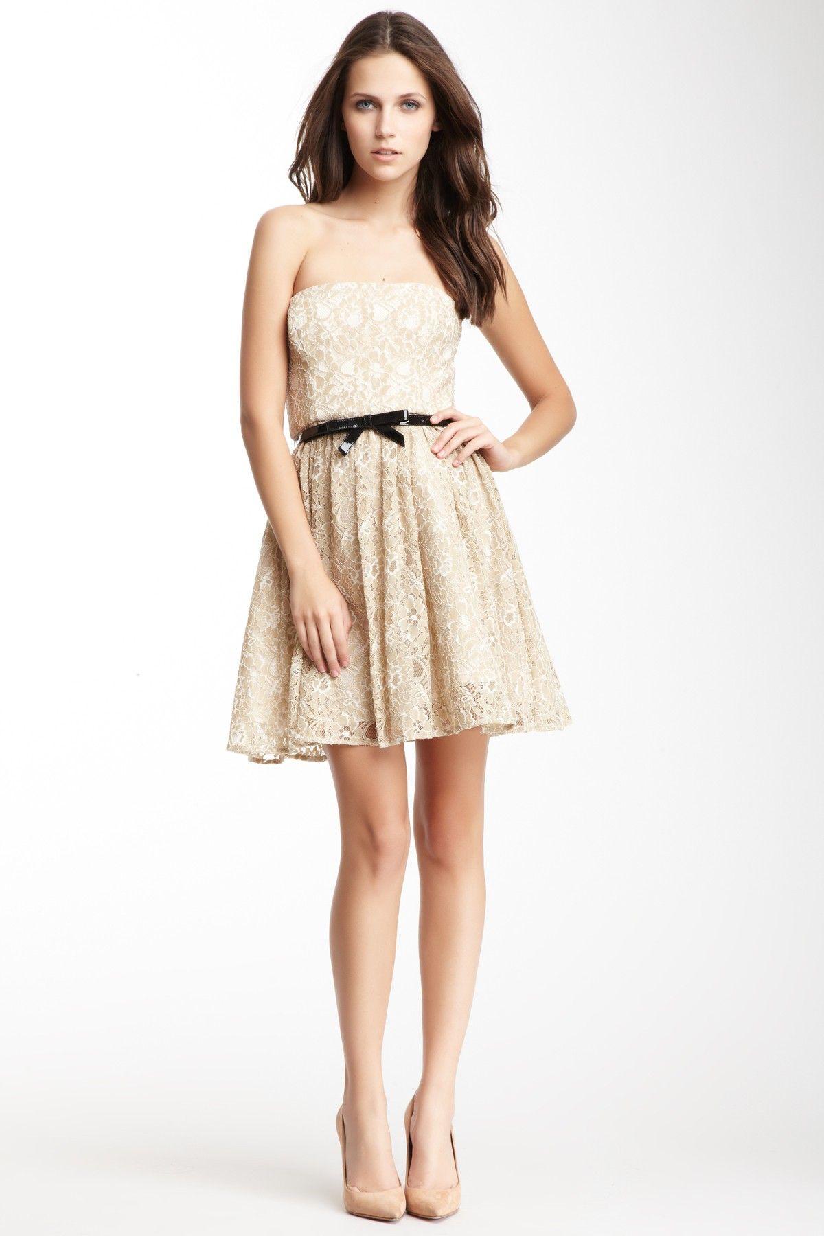 Max & Cleo Erin Knit Cocktail Dress//