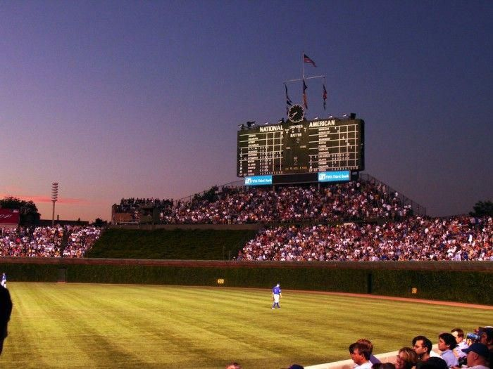 6 There is really no better view than Wrigley Field (Chicago) at