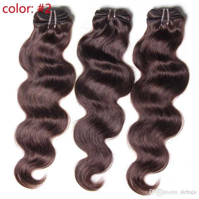 2016 100g/Pc Multi Color Body Wave Brazilian Virgin Hair Weaves Hair Weft 100% Human Hair Extension 3 Bundles Body Wave Hair Extension From Debaja, $62.31 | Dhgate.Com