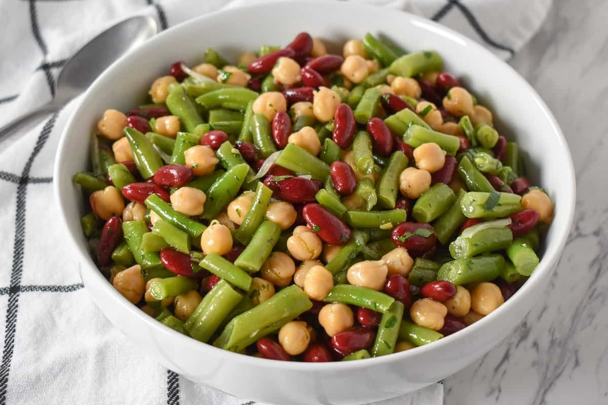 Simple Three Bean Salad Recipes