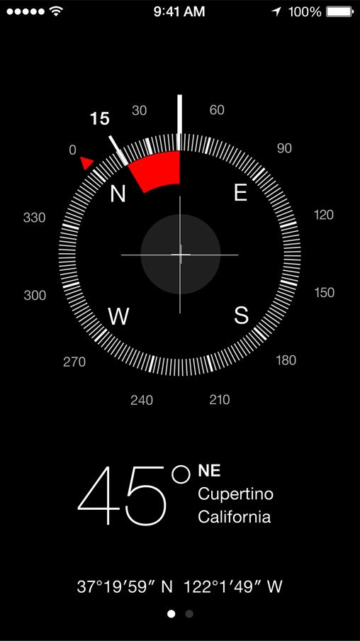 iOS 7 Compass Iphone, Give away free stuff, Iphone 5s
