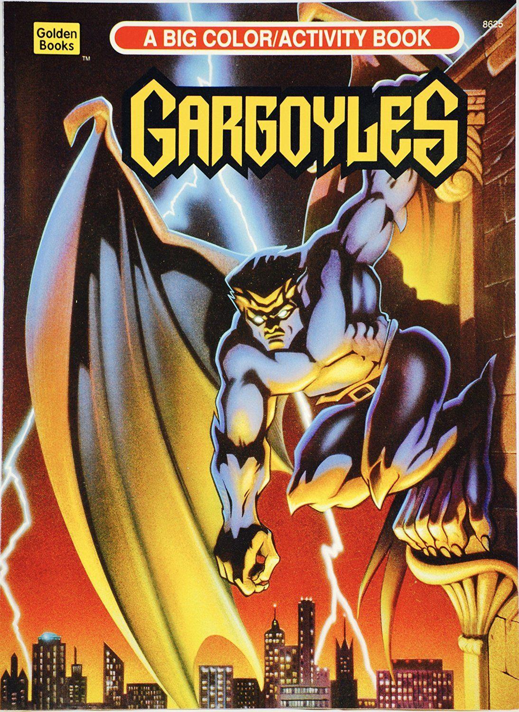 Goliath On A Cover Of Disneys Gargoyles Coloring Book