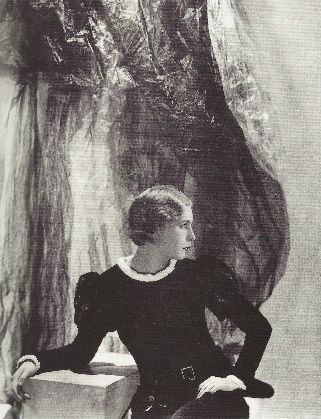 Lady Abdy as Hamlet by Cecil Beaton, 1929. Image via Pinterest.