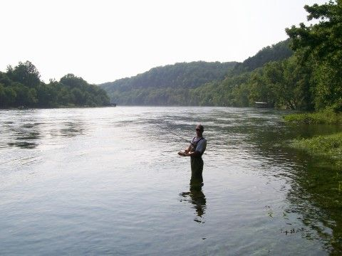 That Will Be Me In About 10 Days Fly Fishing The White River Cotter Ar Fly Fishing White River Beautiful Places