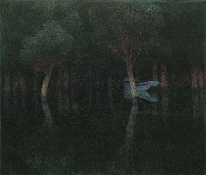 Dämmerung, by Carl Moll, 1900