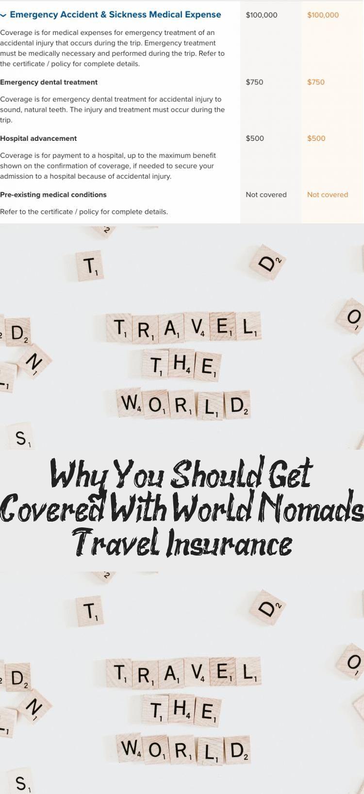 Travel Insurance World Nomads Travel Insurance Tips Best