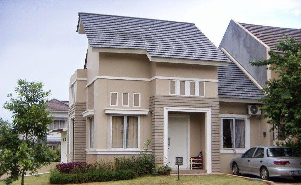 Kombinasi Warna Rumah Cream