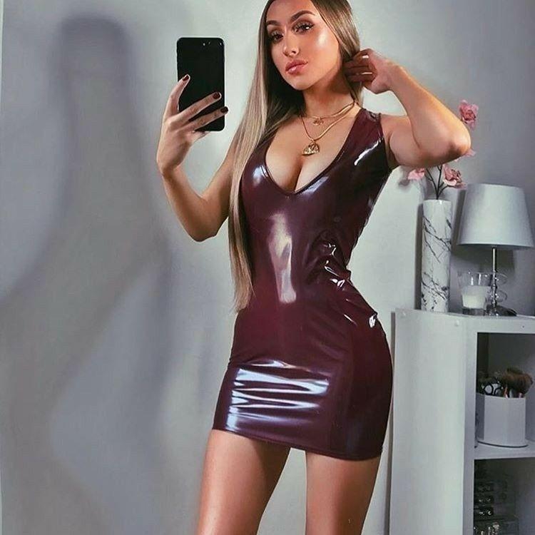 Bodycon dress latex as seen on tv