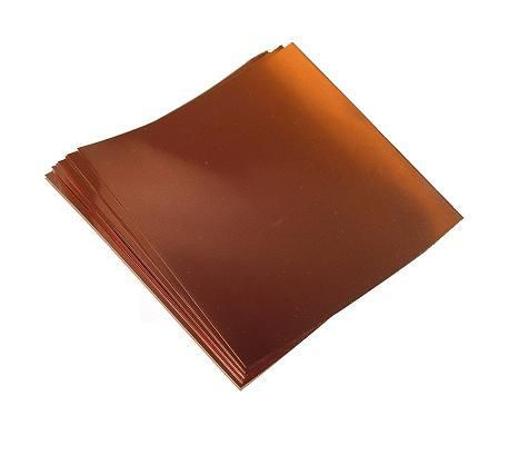 20 Gauge Copper Sheet 32 Mil 8 X 8 One Sheet Copper Sheets Copper Copper Ceiling
