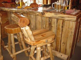 Cedar Slab Furniture Dining Tables End Adirondack Rustic Gallery