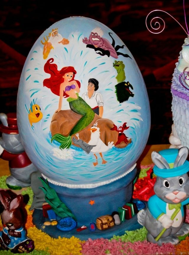 Idée Déco Pour œuf   Le Prince Et La Petit Sirène