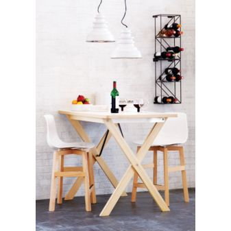 linear 12 bottle wine rack from CB2, $49.95 each