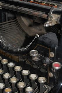 I need to use my darling Underwood to write a letter!