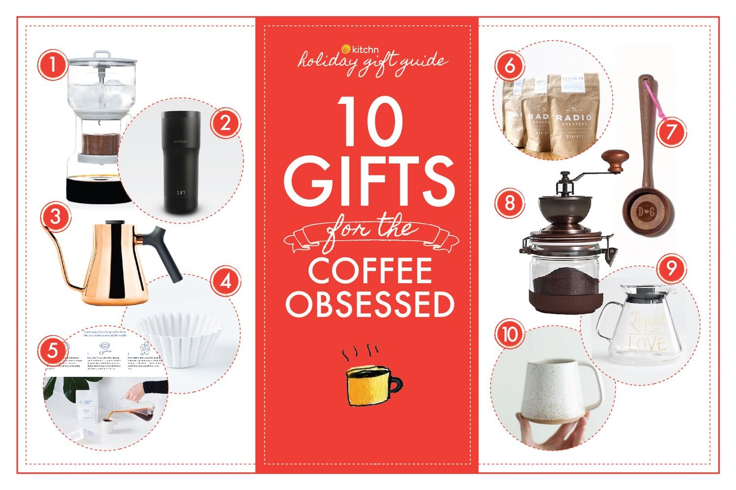 10 Gifts For The Coffee Obsessed Coffee Lover Gifts Gifts Coffee Lover