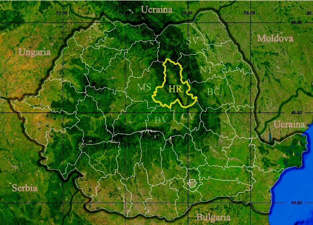 Romania Suceava Romania Map