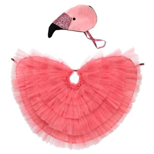 FLAMINGO PINK BIRD Fancy Dress Headress Feather Hairband Costume PINK SWAN NEW