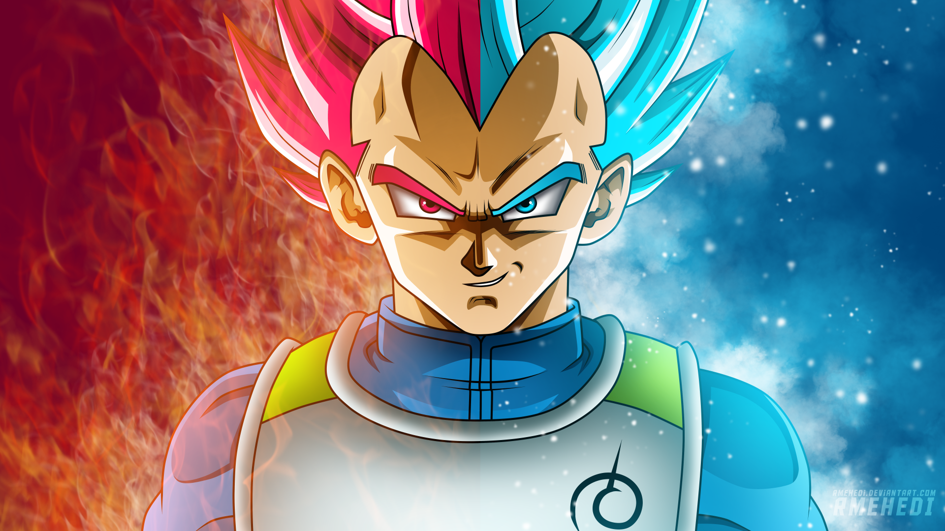 Anime Dragon Ball Super Vegeta (Dragon Ball) Fondo de