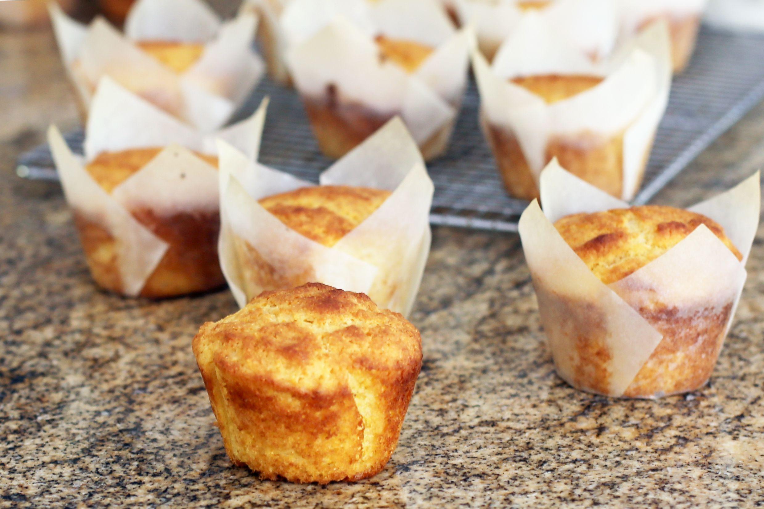 Sour Cream Cornbread Muffins Recipe Sour Cream Cornbread Cornbread Muffins Cornbread